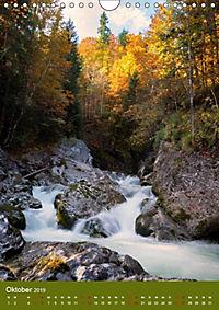 Wasserfälle im bayerischen Oberland (Wandkalender 2019 DIN A4 hoch) - Produktdetailbild 7