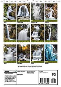Wasserfälle im bayerischen Oberland (Wandkalender 2019 DIN A4 hoch) - Produktdetailbild 6