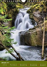 Wasserfälle im bayerischen Oberland (Wandkalender 2019 DIN A4 hoch) - Produktdetailbild 2