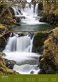 Wasserfälle im bayerischen Oberland (Wandkalender 2019 DIN A4 hoch) - Produktdetailbild 5