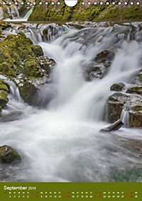 Wasserfälle im bayerischen Oberland (Wandkalender 2019 DIN A4 hoch) - Produktdetailbild 8