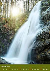 Wasserfälle im bayerischen Oberland (Wandkalender 2019 DIN A3 hoch) - Produktdetailbild 1