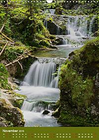 Wasserfälle im bayerischen Oberland (Wandkalender 2019 DIN A3 hoch) - Produktdetailbild 11