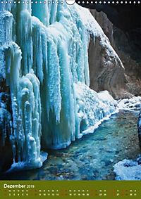 Wasserfälle im bayerischen Oberland (Wandkalender 2019 DIN A3 hoch) - Produktdetailbild 12