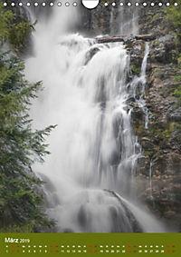 Wasserfälle im bayerischen Oberland (Wandkalender 2019 DIN A4 hoch) - Produktdetailbild 3