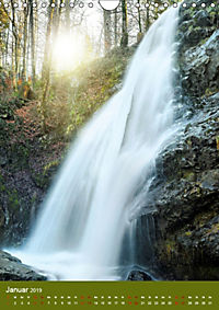 Wasserfälle im bayerischen Oberland (Wandkalender 2019 DIN A4 hoch) - Produktdetailbild 1