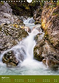 Wasserfälle im bayerischen Oberland (Wandkalender 2019 DIN A4 hoch) - Produktdetailbild 4