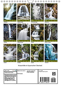 Wasserfälle im bayerischen Oberland (Wandkalender 2019 DIN A4 hoch) - Produktdetailbild 13