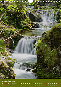 Wasserfälle im bayerischen Oberland (Wandkalender 2019 DIN A4 hoch) - Produktdetailbild 11