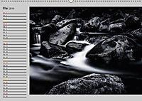 Wasserfälle - monochrom (Wandkalender 2019 DIN A2 quer) - Produktdetailbild 5