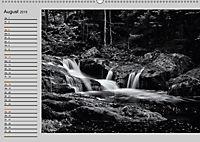Wasserfälle - monochrom (Wandkalender 2019 DIN A2 quer) - Produktdetailbild 8