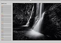 Wasserfälle - monochrom (Wandkalender 2019 DIN A2 quer) - Produktdetailbild 6