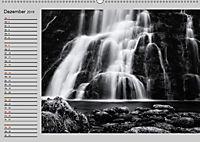 Wasserfälle - monochrom (Wandkalender 2019 DIN A2 quer) - Produktdetailbild 12
