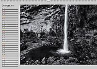 Wasserfälle - monochrom (Wandkalender 2019 DIN A2 quer) - Produktdetailbild 10