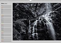 Wasserfälle - monochrom (Wandkalender 2019 DIN A3 quer) - Produktdetailbild 3