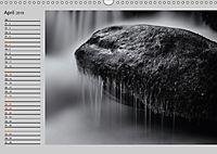 Wasserfälle - monochrom (Wandkalender 2019 DIN A3 quer) - Produktdetailbild 4