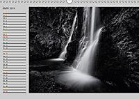 Wasserfälle - monochrom (Wandkalender 2019 DIN A3 quer) - Produktdetailbild 6