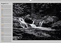 Wasserfälle - monochrom (Wandkalender 2019 DIN A3 quer) - Produktdetailbild 8