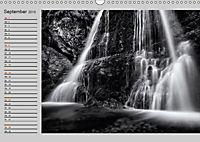 Wasserfälle - monochrom (Wandkalender 2019 DIN A3 quer) - Produktdetailbild 9