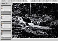 Wasserfälle - monochrom (Wandkalender 2019 DIN A4 quer) - Produktdetailbild 8