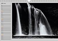 Wasserfälle - monochrom (Wandkalender 2019 DIN A4 quer) - Produktdetailbild 7