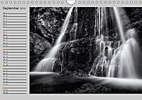 Wasserfälle - monochrom (Wandkalender 2019 DIN A4 quer) - Produktdetailbild 9