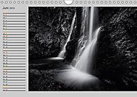 Wasserfälle - monochrom (Wandkalender 2019 DIN A4 quer) - Produktdetailbild 6