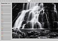 Wasserfälle - monochrom (Wandkalender 2019 DIN A4 quer) - Produktdetailbild 12