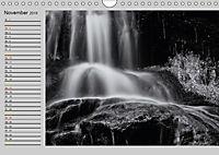 Wasserfälle - monochrom (Wandkalender 2019 DIN A4 quer) - Produktdetailbild 11
