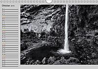 Wasserfälle - monochrom (Wandkalender 2019 DIN A4 quer) - Produktdetailbild 10