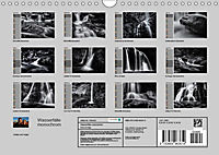 Wasserfälle - monochrom (Wandkalender 2019 DIN A4 quer) - Produktdetailbild 13