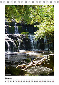 Wasserfälle Neuseelands (Tischkalender 2019 DIN A5 hoch) - Produktdetailbild 5