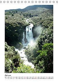 Wasserfälle Neuseelands (Tischkalender 2019 DIN A5 hoch) - Produktdetailbild 8