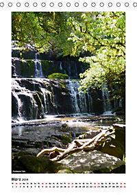 Wasserfälle Neuseelands (Tischkalender 2019 DIN A5 hoch) - Produktdetailbild 3
