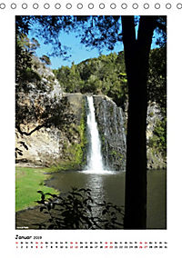 Wasserfälle Neuseelands (Tischkalender 2019 DIN A5 hoch) - Produktdetailbild 1