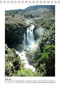 Wasserfälle Neuseelands (Tischkalender 2019 DIN A5 hoch) - Produktdetailbild 7