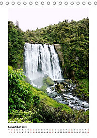 Wasserfälle Neuseelands (Tischkalender 2019 DIN A5 hoch) - Produktdetailbild 11