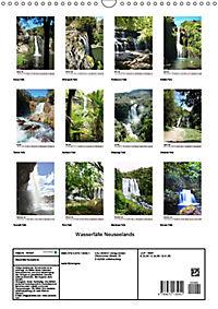 Wasserfälle Neuseelands (Wandkalender 2019 DIN A3 hoch) - Produktdetailbild 13