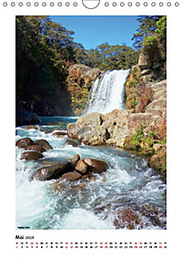 Wasserfälle Neuseelands (Wandkalender 2019 DIN A4 hoch) - Produktdetailbild 5