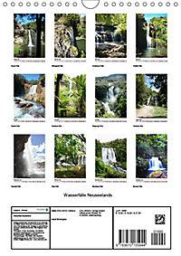 Wasserfälle Neuseelands (Wandkalender 2019 DIN A4 hoch) - Produktdetailbild 13