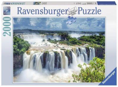 Wasserfälle von Iguazu. Puzzle 1500-3000 Teile
