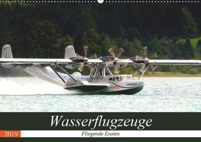 Wasserflugzeuge - Fliegende Exoten (Wandkalender 2019 DIN A2 quer), J. R. Bogner