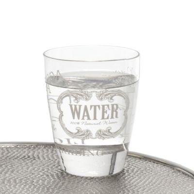 Wasserglas-Set, 6-tlg. Letters