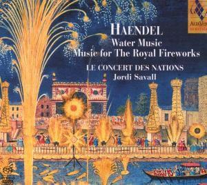 Wassermusik / Feuerwerksmusik (SACD), Jordi Savall, Le Concert Des Nations