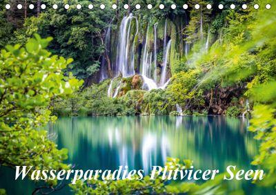Wasserparadies Plitvicer Seen (Tischkalender 2019 DIN A5 quer), Zeljko Nedic