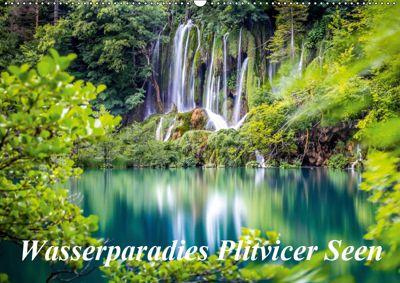 Wasserparadies Plitvicer Seen (Wandkalender 2019 DIN A2 quer), Zeljko Nedic