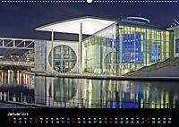 Wasserspiegelungen in Berlin (Wandkalender 2019 DIN A2 quer) - Produktdetailbild 1