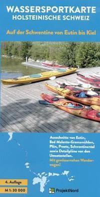 Wassersportkarte Holsteinische Schweiz 1 : 30 000, Peter Knoke
