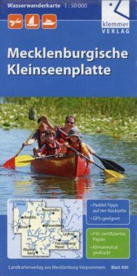 Wasserwanderkarte Mecklenburgische Kleinseenplatte 1 : 50 000