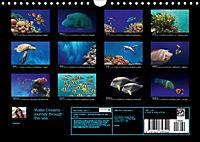 Water Dreams-journey through the sea (Wall Calendar 2019 DIN A4 Landscape) - Produktdetailbild 1
